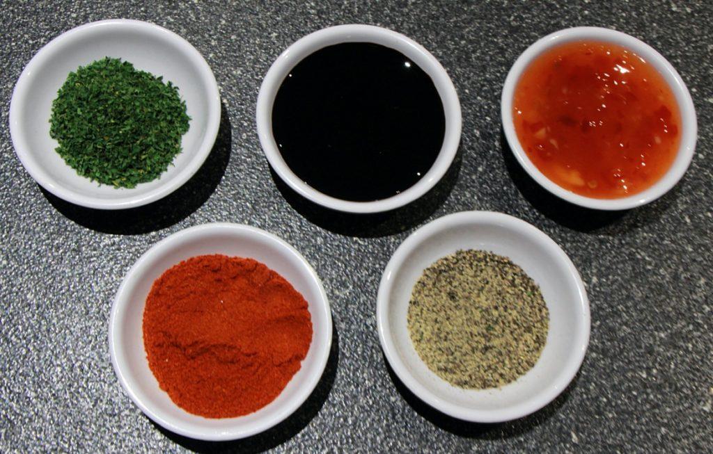 Marination ingredients