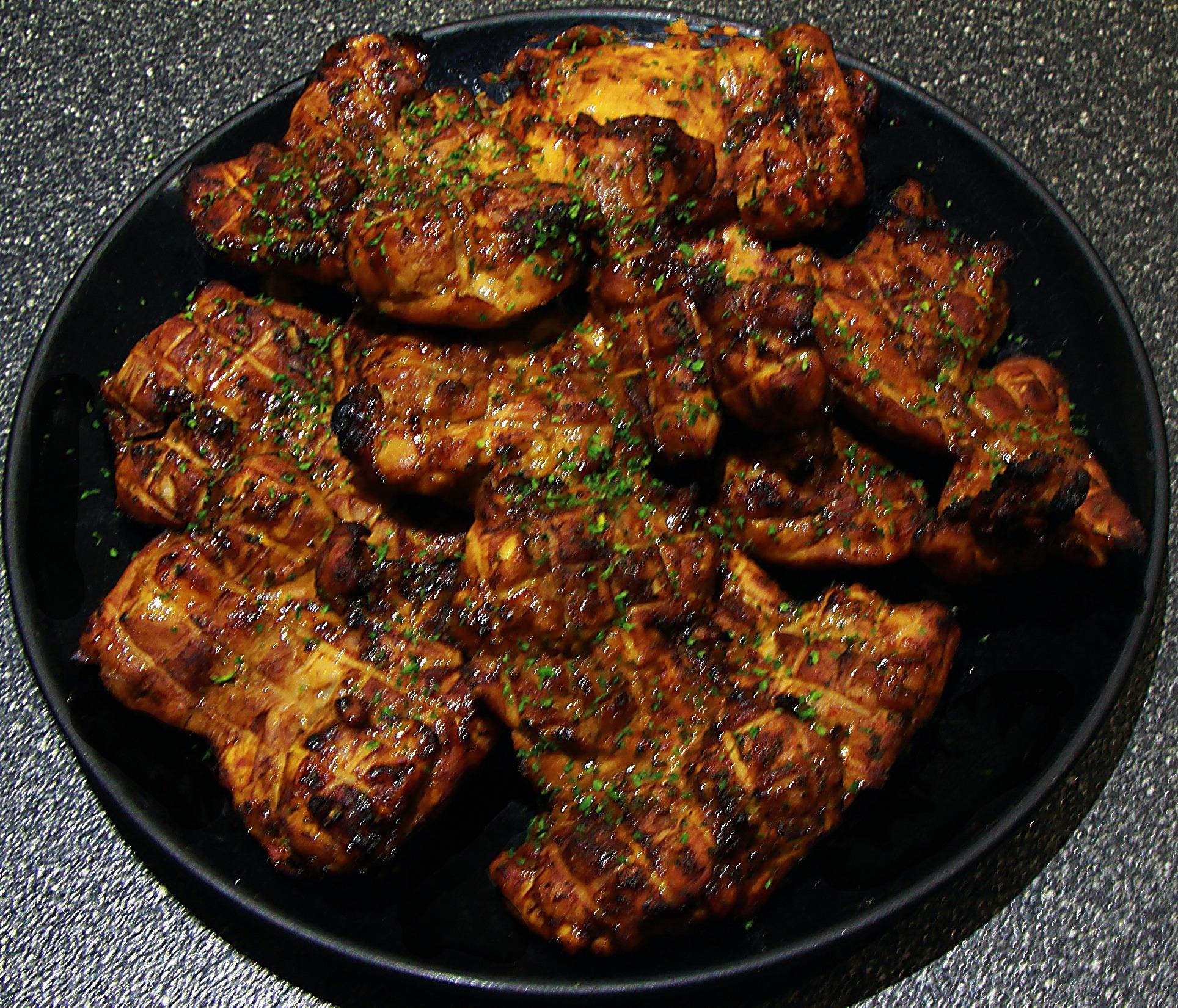 Divine Oven-Grilled Chicken Thighs