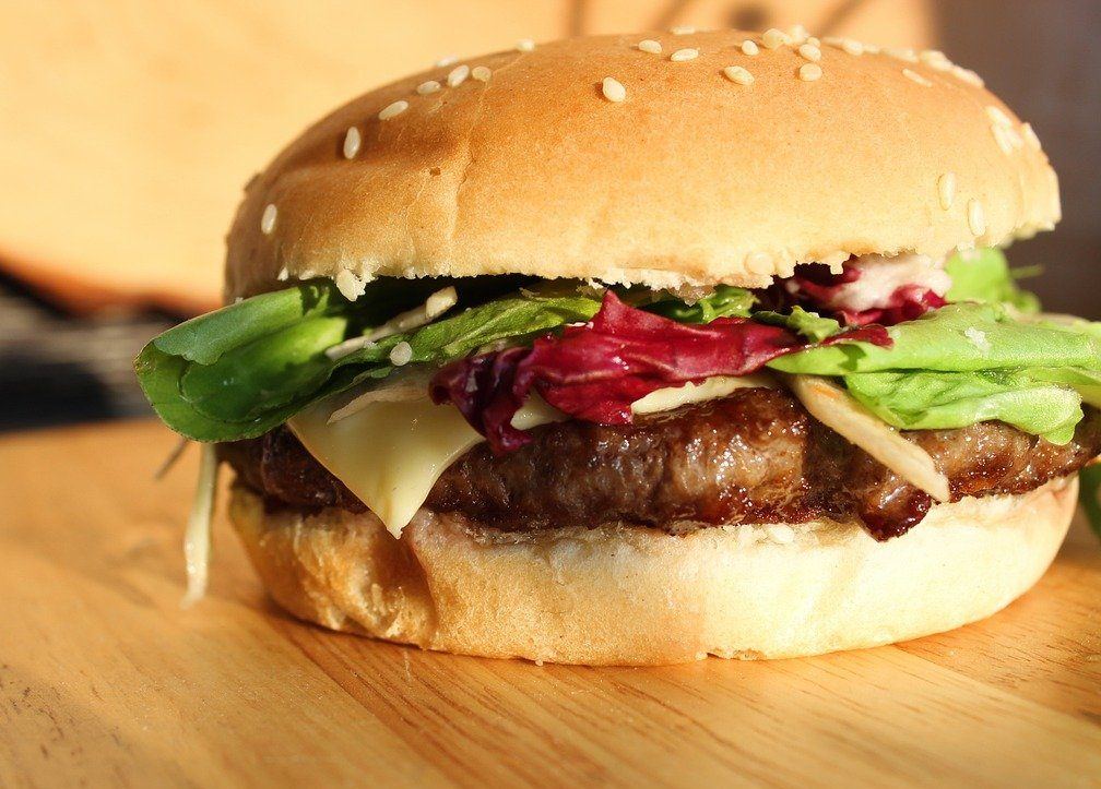Mouthwatering Delicious Beef Burger