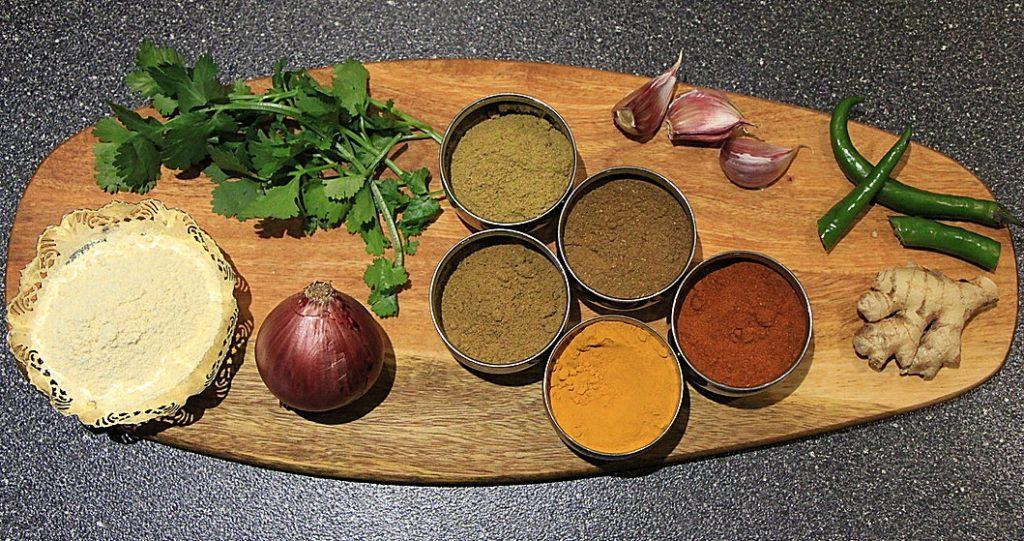 Pakora ingredients