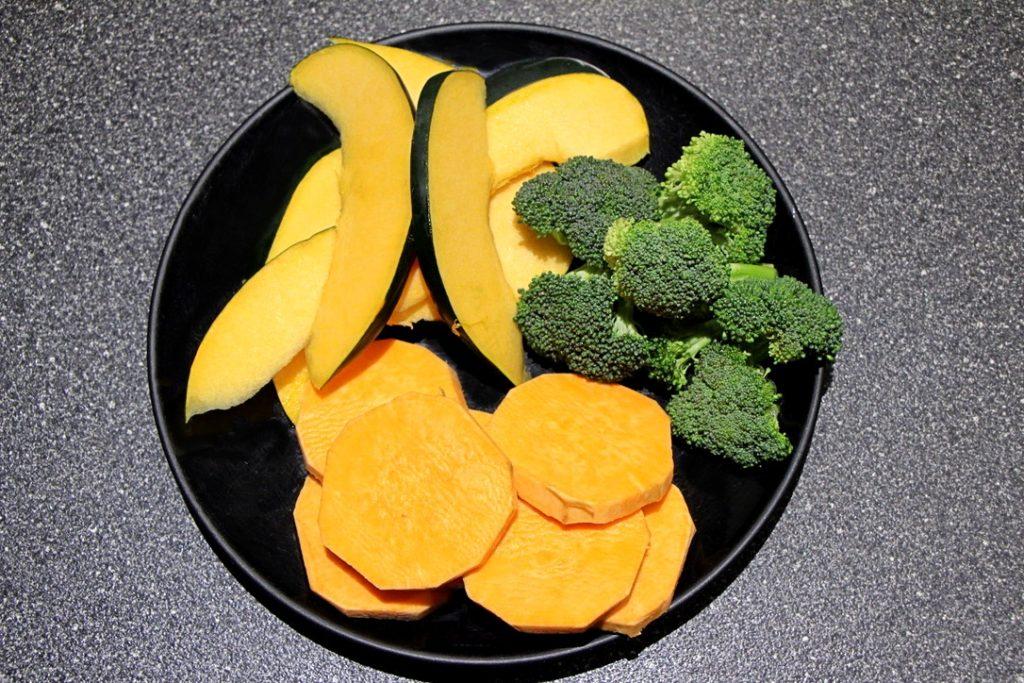 Vegetables for tempura