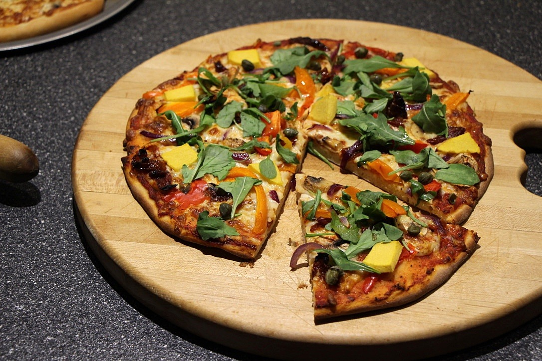 The Perfect Vegetarian Pizza