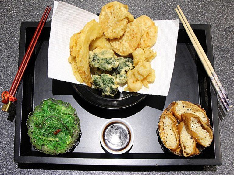 Gluten Free Vegetable Tempura