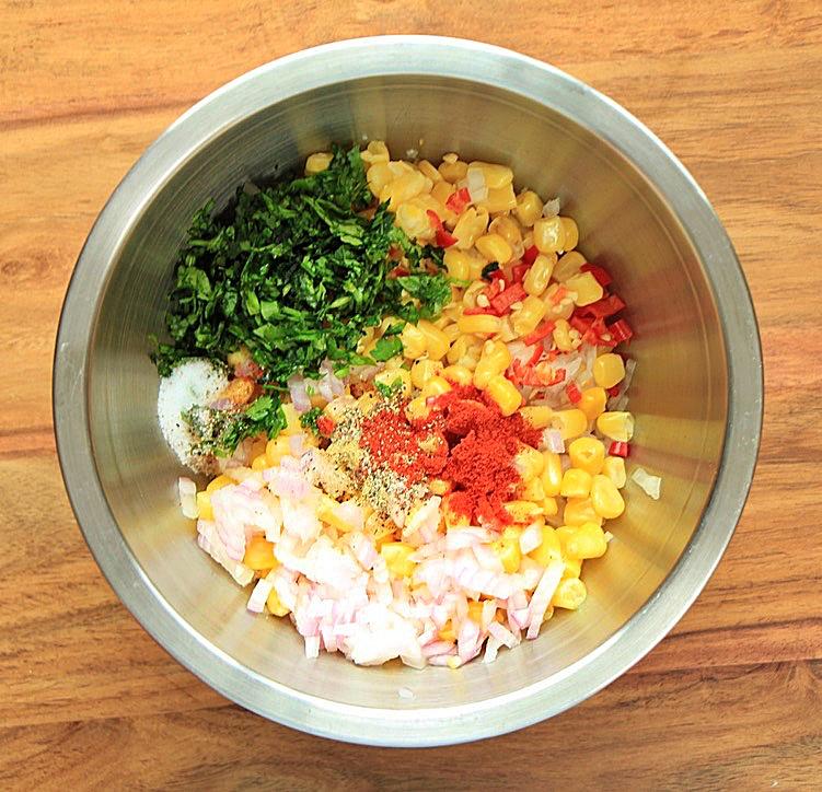 Corn salad premix