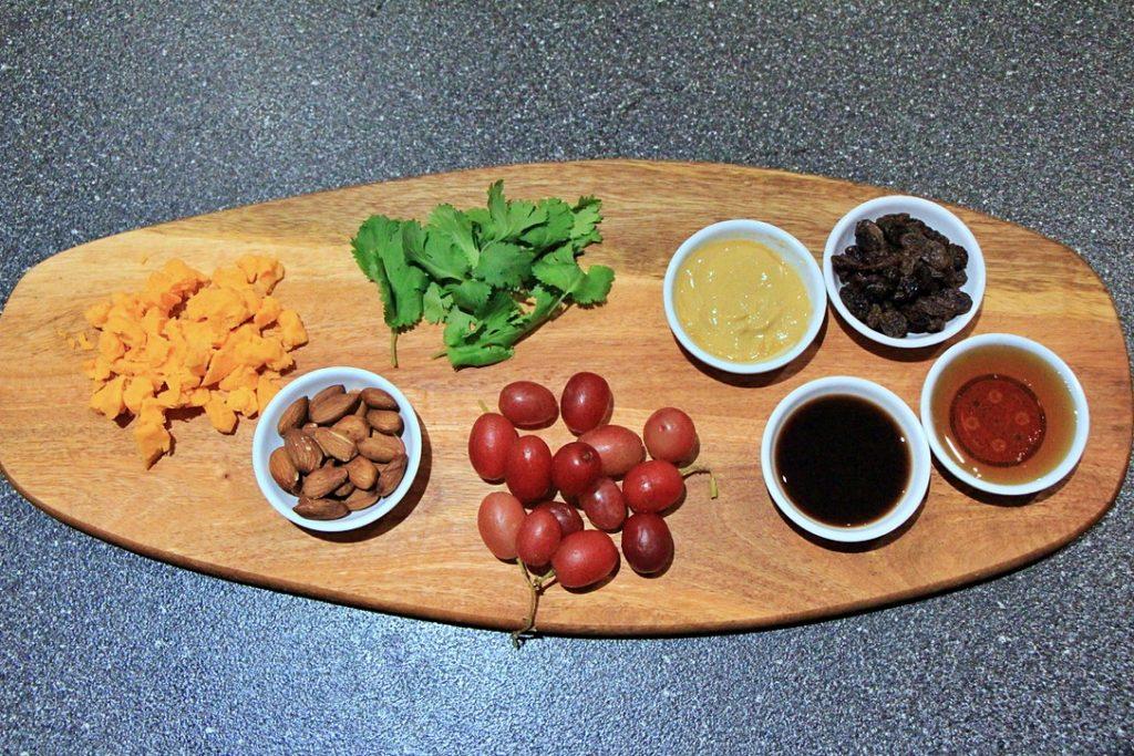 roasted cauliflower salad ingredients