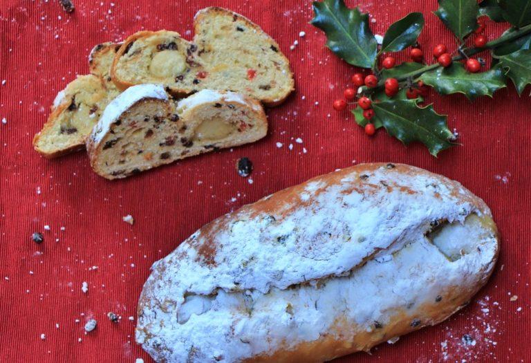 Amazing German Christmas Stollen with Marzipan