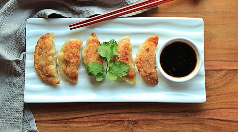 Delightful Japanese Pork and Leek Gyoza
