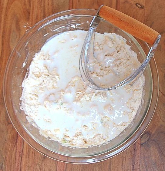 Flour with buttermilk