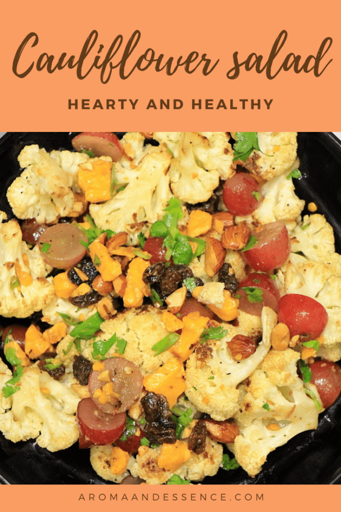 Hearty and Healthy Roasted Cauliflower Salad