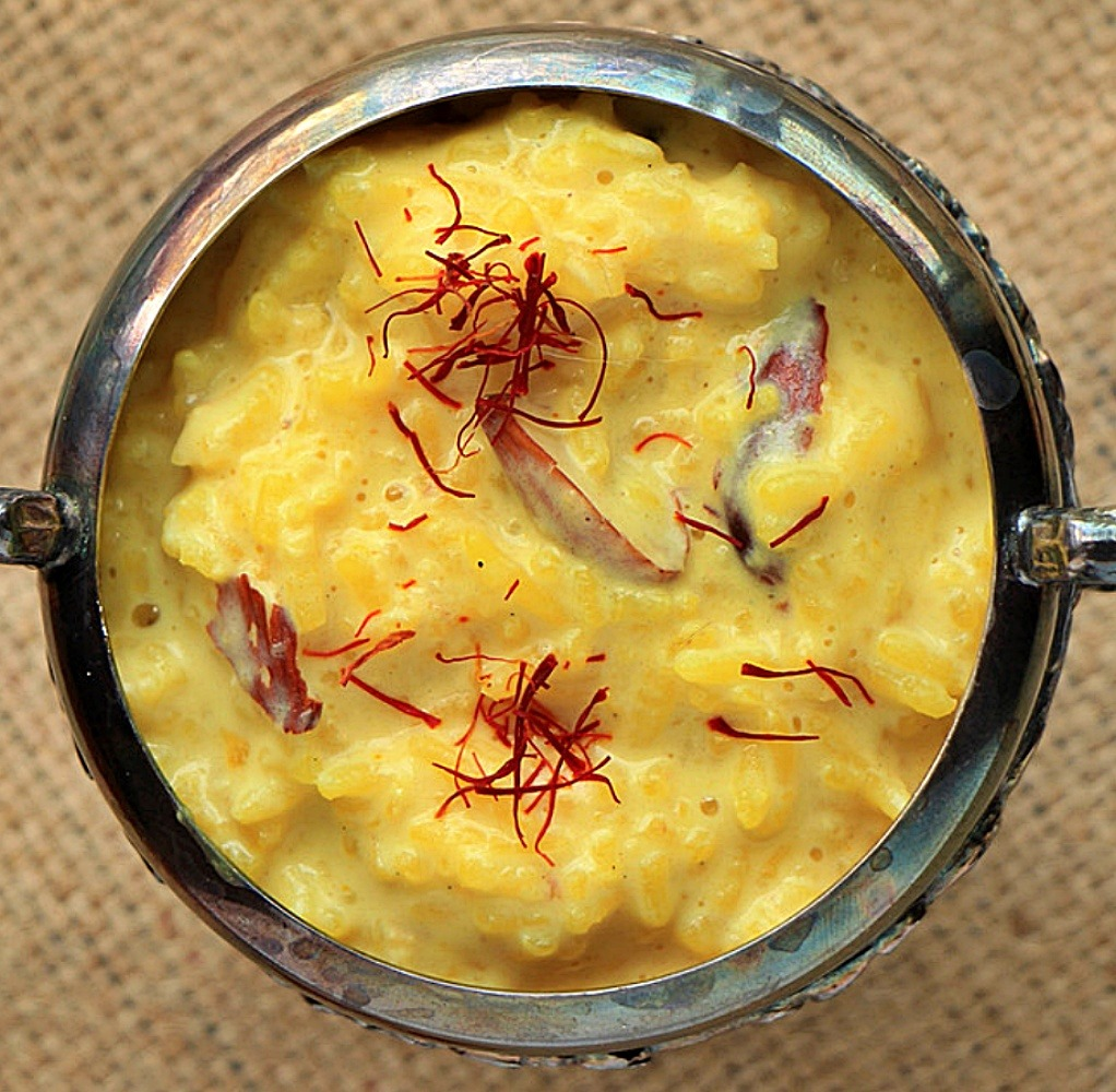 Perfect creamy Indian rice pudding