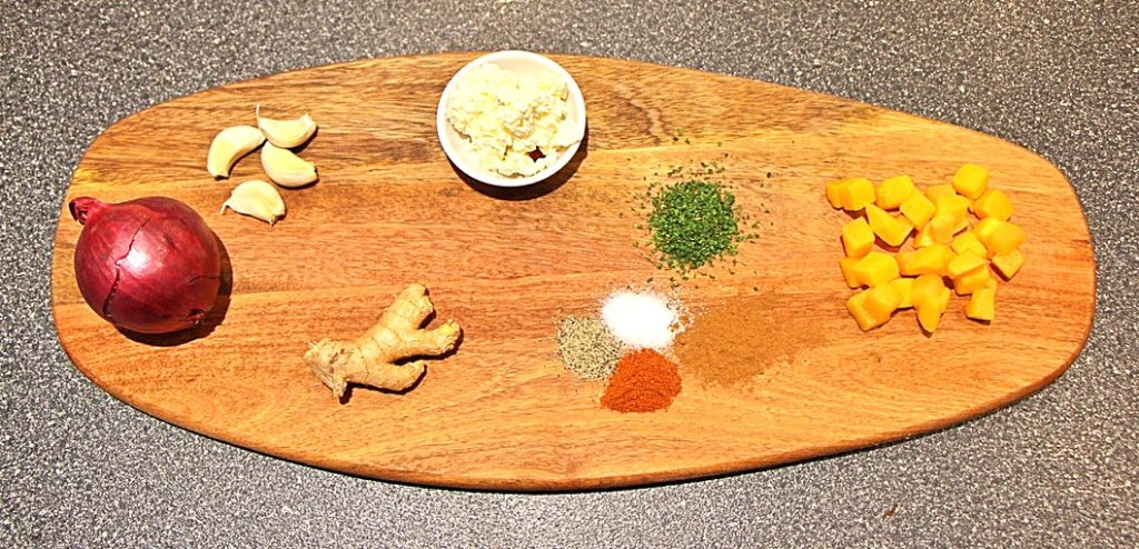 Butternut squash turnover ingredients