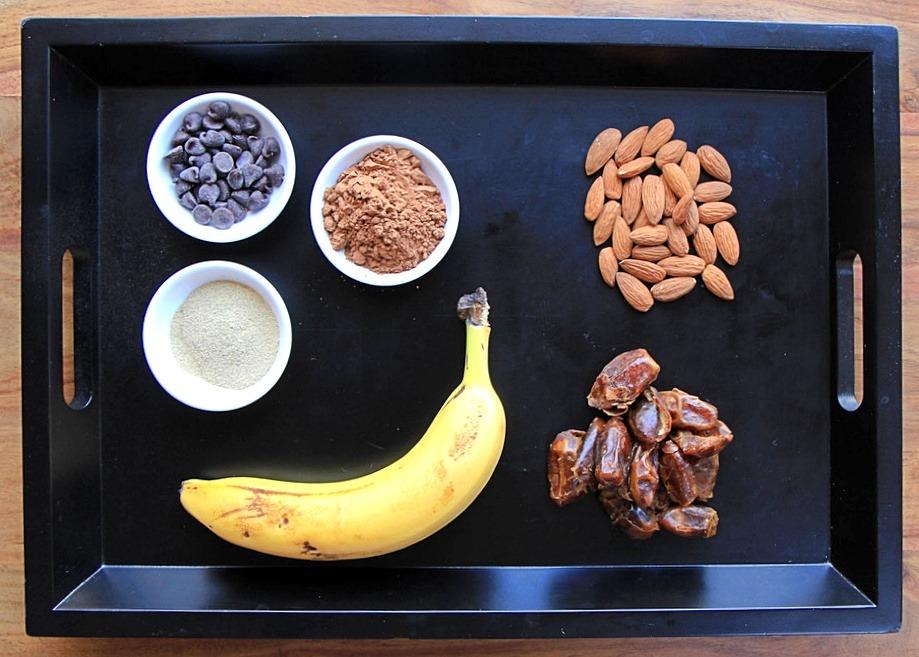 Frozen banana pie ingredients