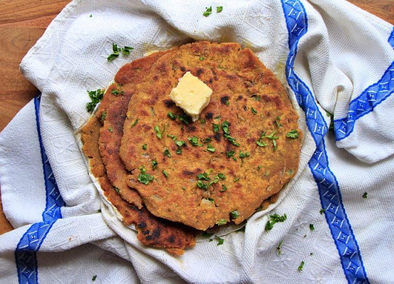 Glutenfree Leftover Lentil Flatbread