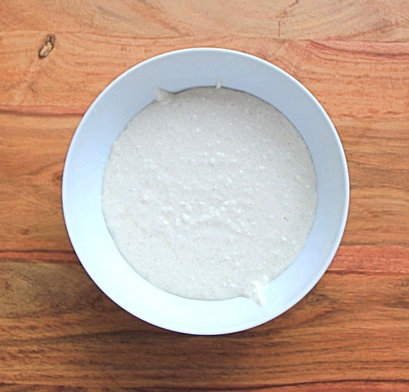 Rice and coconut pancake batter