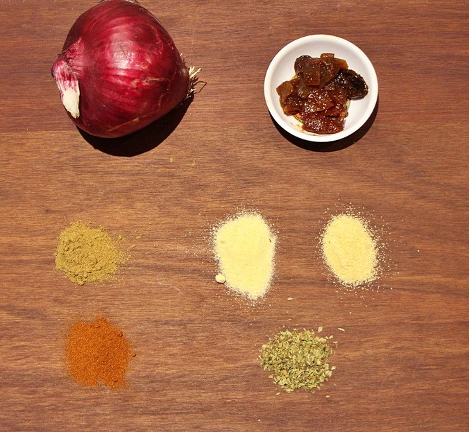 One-pot Mexican pulled pork ingredients