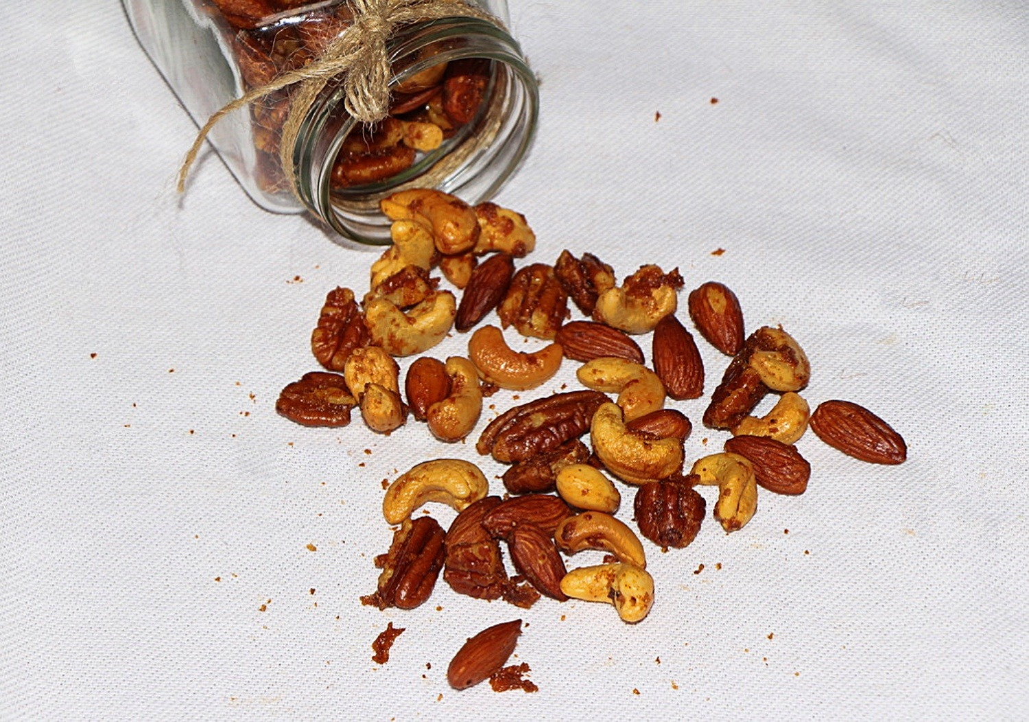 Sweet and Sour Spiced Nuts