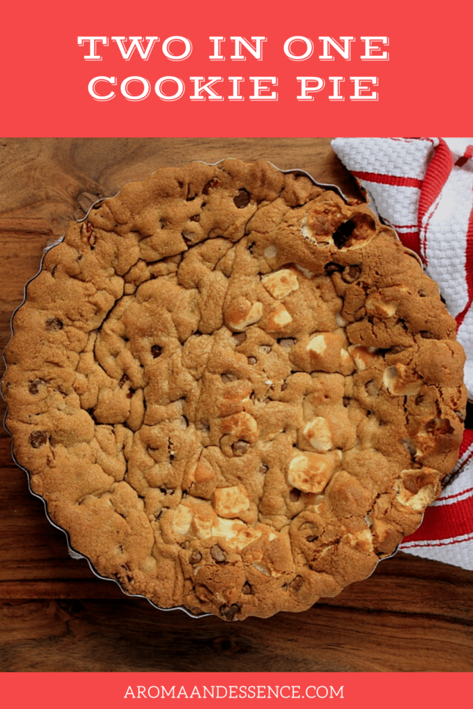 The Perfect Two-in-One Cookie Pie