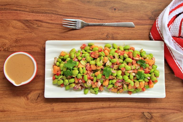 Edamame and Mango Salad