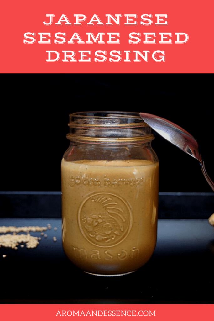 Creamy Japanese Sesame Seed Dressing