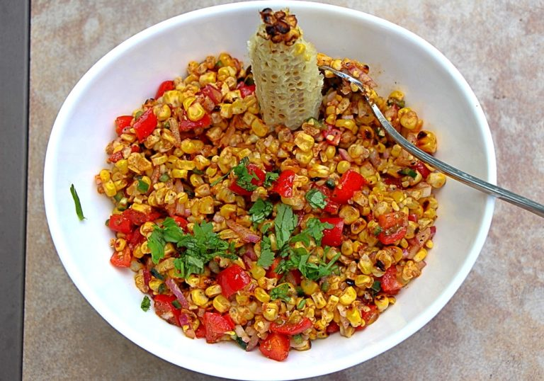 Ultimate Summer Barbecued Corn Salad