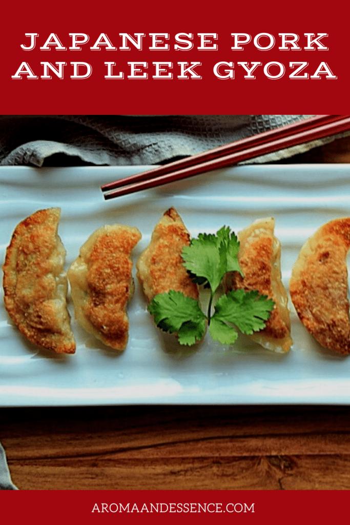Japanese Pork and Leek Gyoza