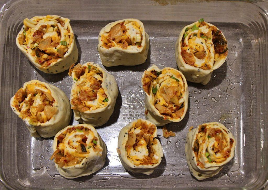 Rollups in a dish