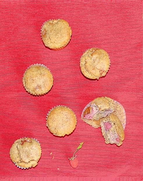 Healthy Lemon Raspberry Muffins