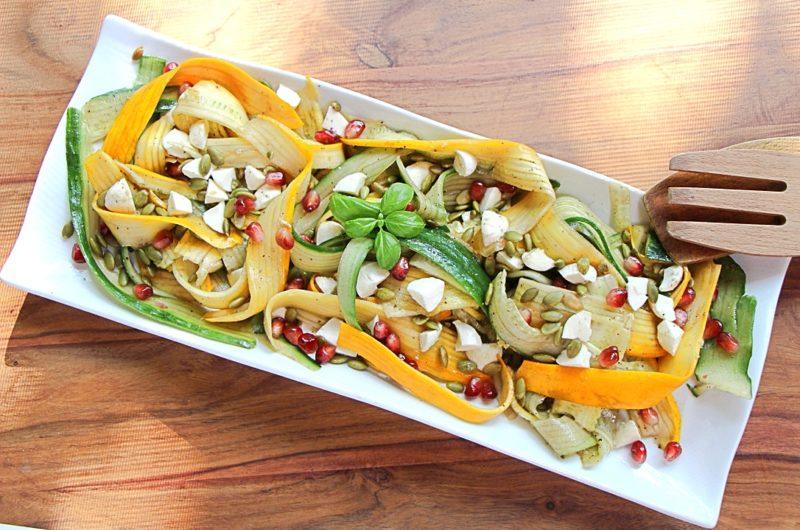 Zucchini salad